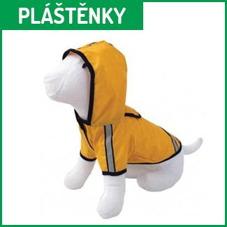 pláštěnky pro psy