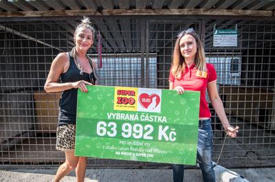 Útulek Lesan v Kralupech převzal výtěžek 63 992 Kč - Foto 9
