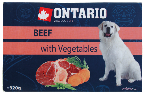 Vanička Ontario Beef with vegetable 320g