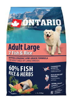 Ontario Adult Large Fish  Rice 2,25kg