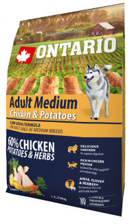 Ontario Adult Medium Chicken  Potatoes 2,25 kg