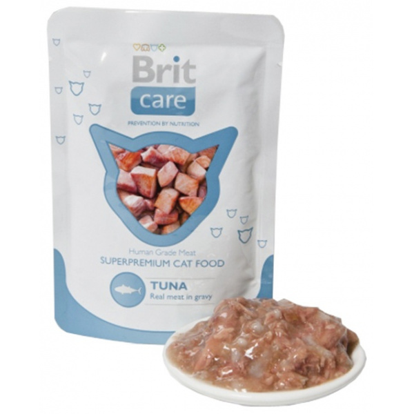 Kapsička BRIT Care Cat Pouches Tuna 80g