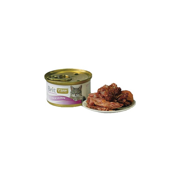 Brit care tuna  salmon 80g