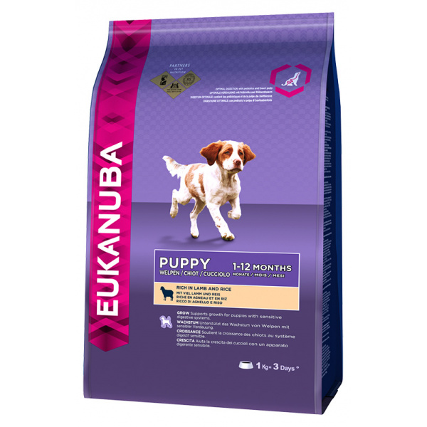 Eukanuba puppy  junior lamb 1kg