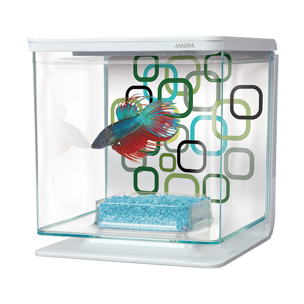 Akvárium marina betta kit geo bubbles 2l