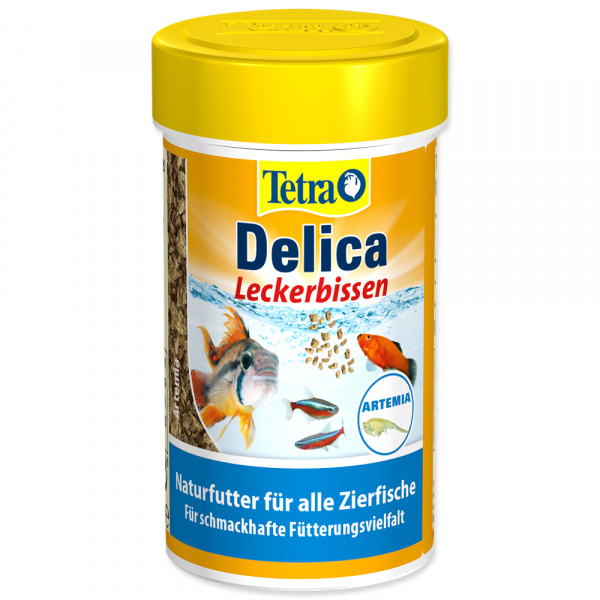 Tetra delica brine shrimps 100ml