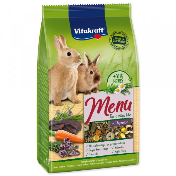 Menu vitakraft rabbit thymian bag 1kg