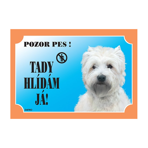 Tabulka dafiko west highland white terrier