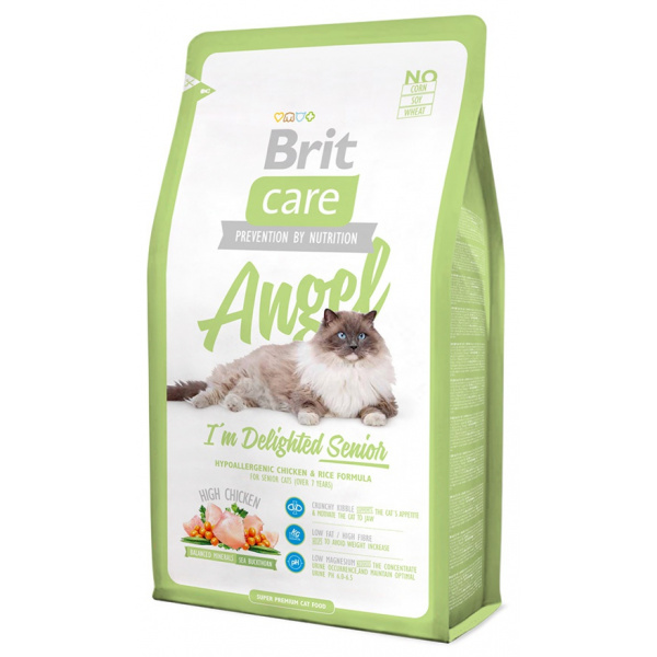 Brit care cat angel im delighted senior 400g