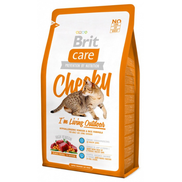 Brit care cat cheeky im living outdoor 7kg