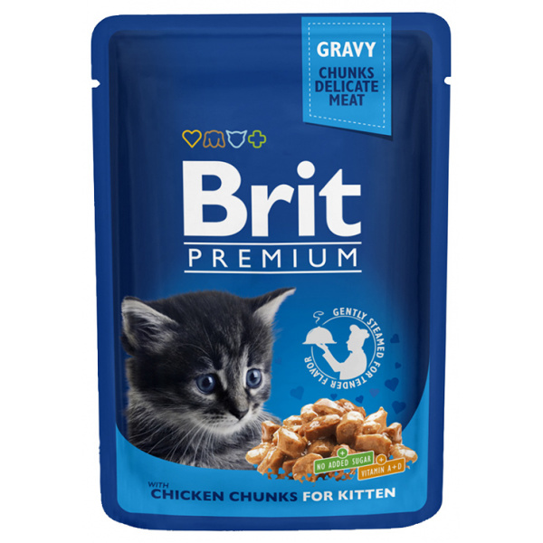 Brit premium kitten chicken 100g
