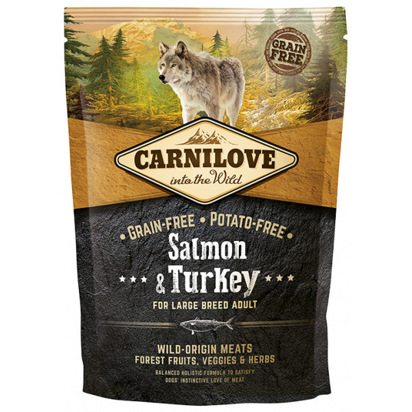Carnilove Salmon  Turkey Large Breed Adult 1.5kg