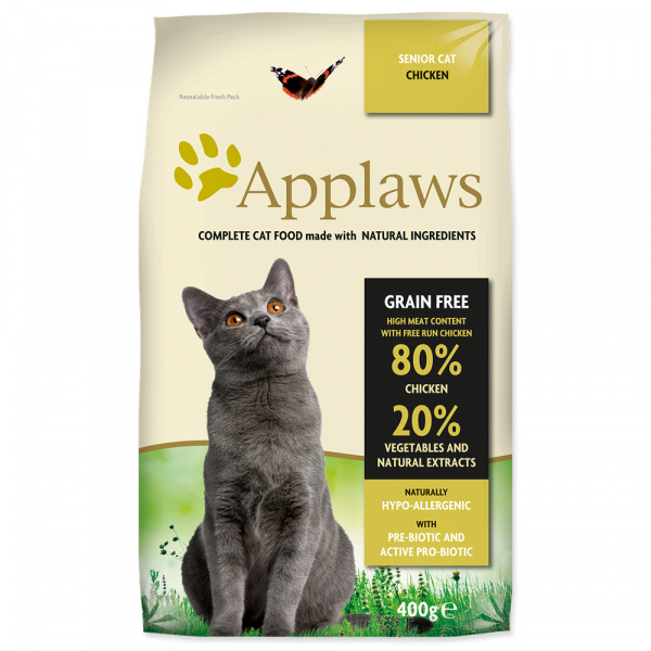 Granule Applaws - Dry cat senior 400g