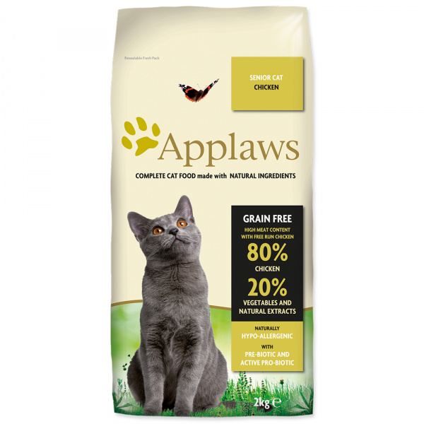 Granule Applaws - Dry cat senior 2kg