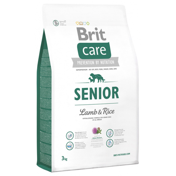 Brit care senior lamb  rice 3kg