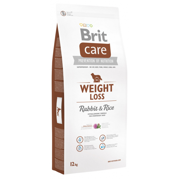 Brit care weight loss rabbit  rice 12kg