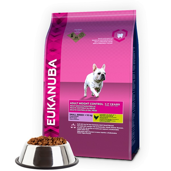 Eukanuba adult small weight control 2x3kg