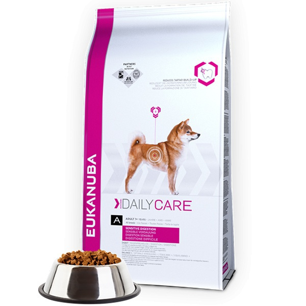 Eukanuba daily care sensitive digestion 2x12,5kg