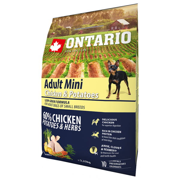 Ontario adult mini chicken  potatoes 2,25 kg