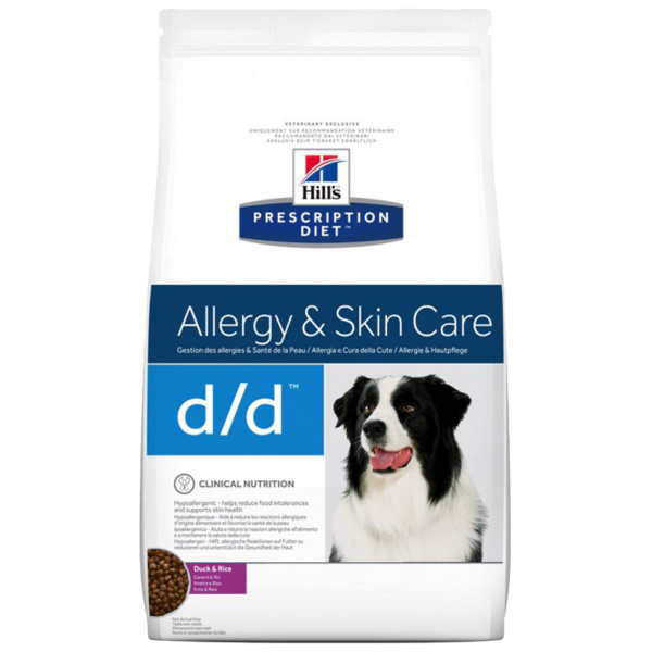 Hill´s prescription diet canine dd duckrice 12kg