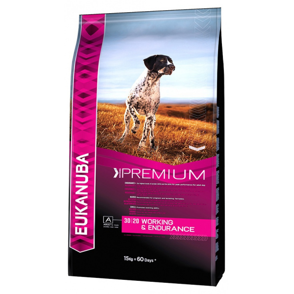 Eukanuba adult working  endurance 2x15kg