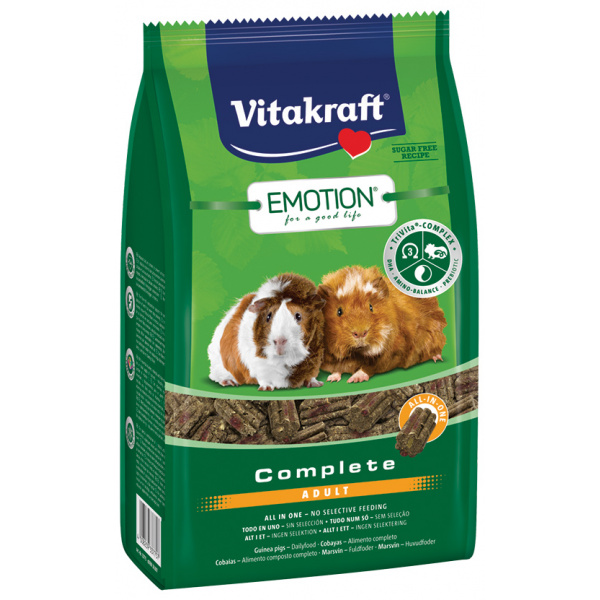 Vitakraft emotion complete morče adult 800g