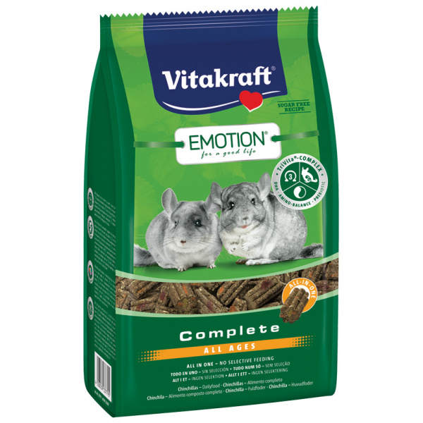 Vitakraft emotion complete činčila 800g