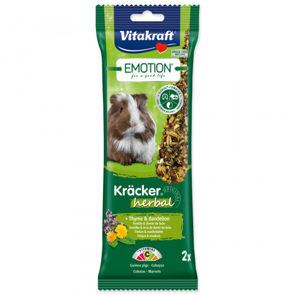 Vitakraft Emotion kracker morče herbal 2ks