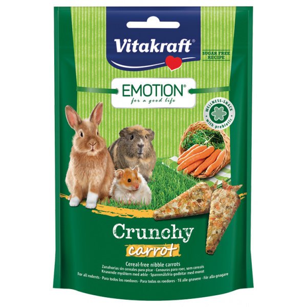 Vitakraft emotion crunchy mrkev 100g
