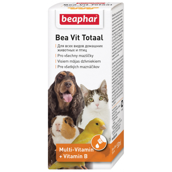 Vitaminové kapky beaphar vit totaal 50 ml