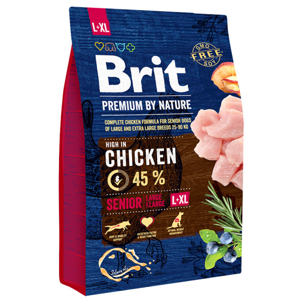 Brit premium by nature senior lxl 3kg