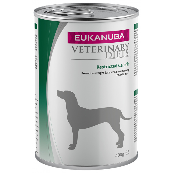 Eukanuba vd restricted calorie formula dog 400g