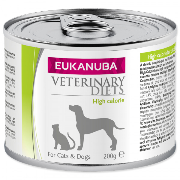 Eukanuba vd high calorie cd 170g