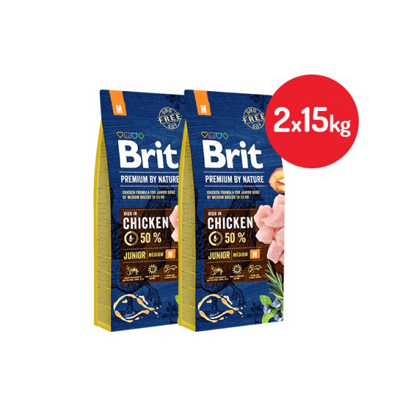 Brit premium by nature junior m 2x15kg