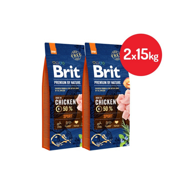 Brit premium by nature sport 2x15kg