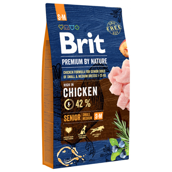 Brit premium by nature senior sm 8kg