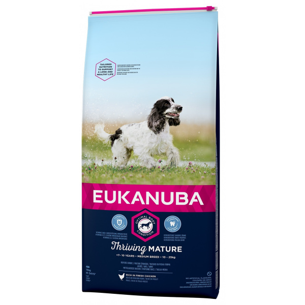 Eukanuba mature medium 2x15kg