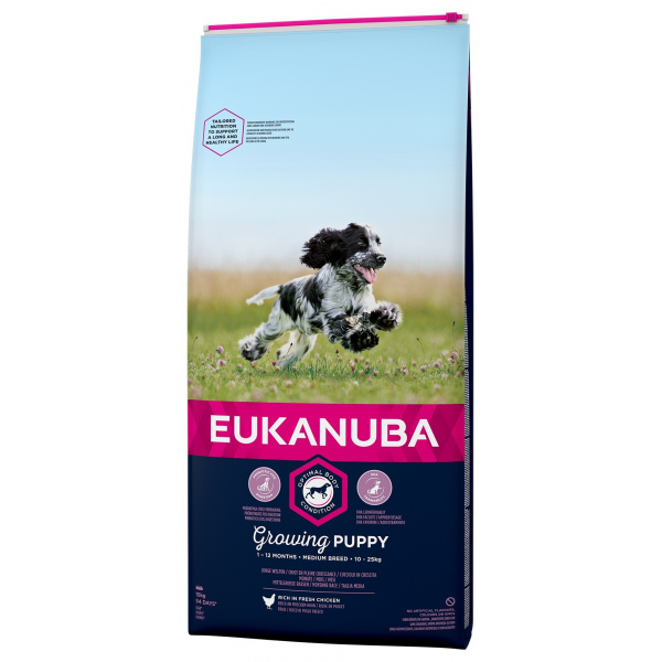 Eukanuba puppy medium 2x15kg