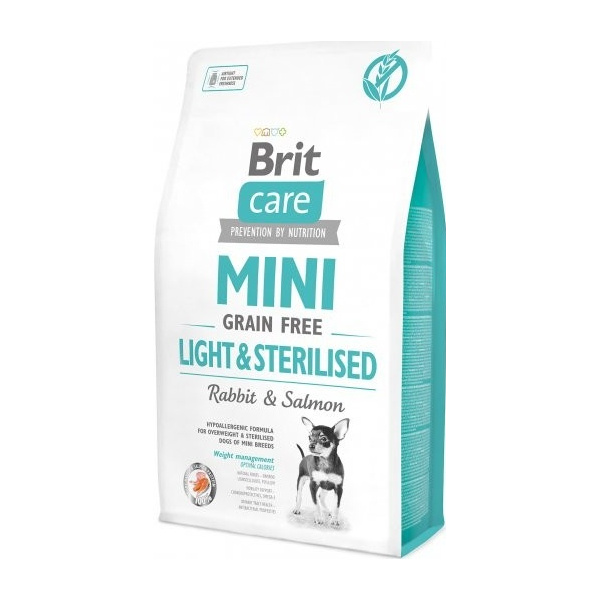 Brit Care Mini Grain Free Light  Sterilised 2kg