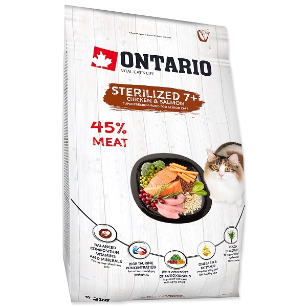 Ontario Cat Sterilised 7 2 kg
