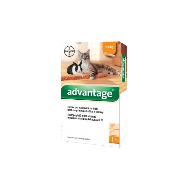 Advantage 40mg spot-on 1x 0,4ml