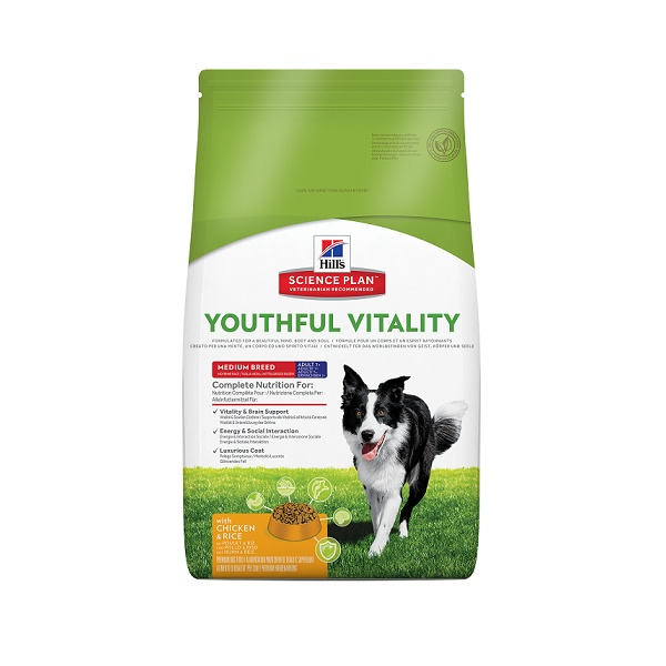 Hill´s science plan canine 7 youthful vitality medium 10kg
