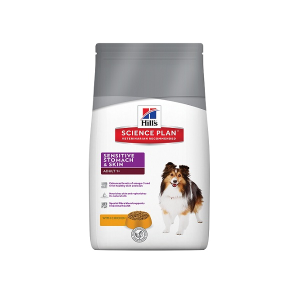 Hill´s science plan canine adult sensitive stomach & skin 12kg