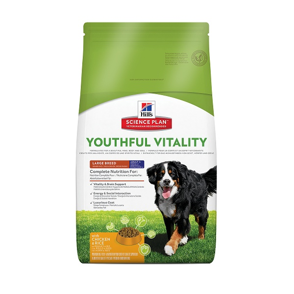 Hill's science plan canine 5 youthful vitality large breed 10kg