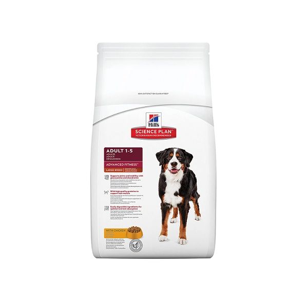 Hill´s science plan canine adult advanced fitness large breed chicken 12kg