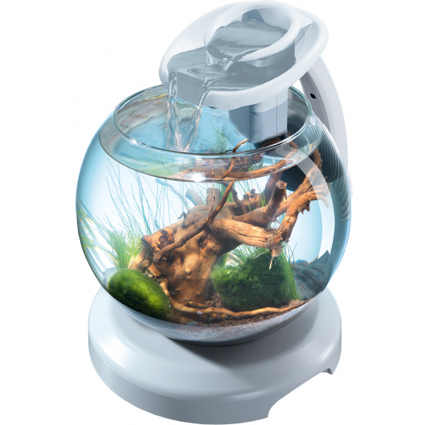 Akvárium set tetra duo waterfall bílý 6,8l