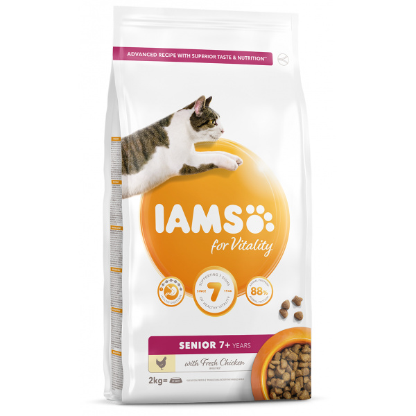 IAMS Cat Senior Chicken 2kg