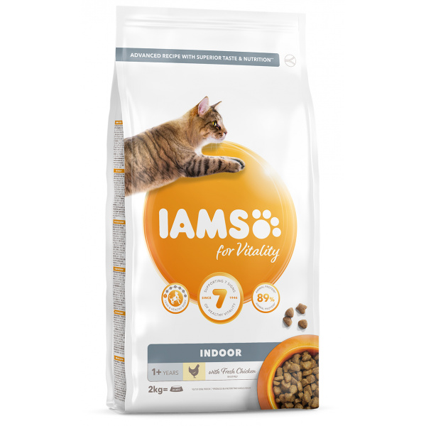 IAMS Cat Adult Indoor Chicken 2kg