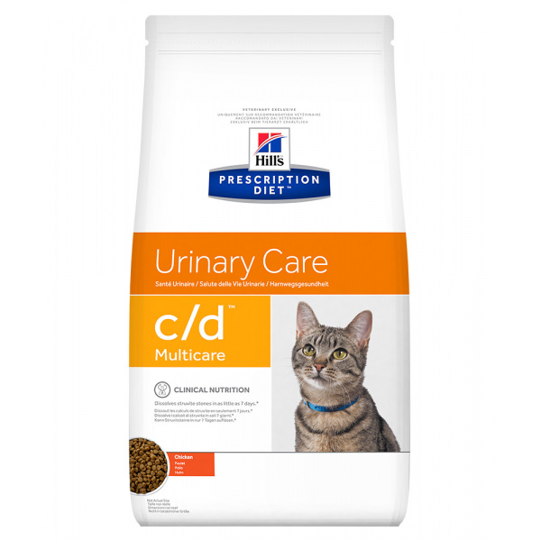 Hill´s Prescription Diet Feline cd Multicare Chicken 10kg