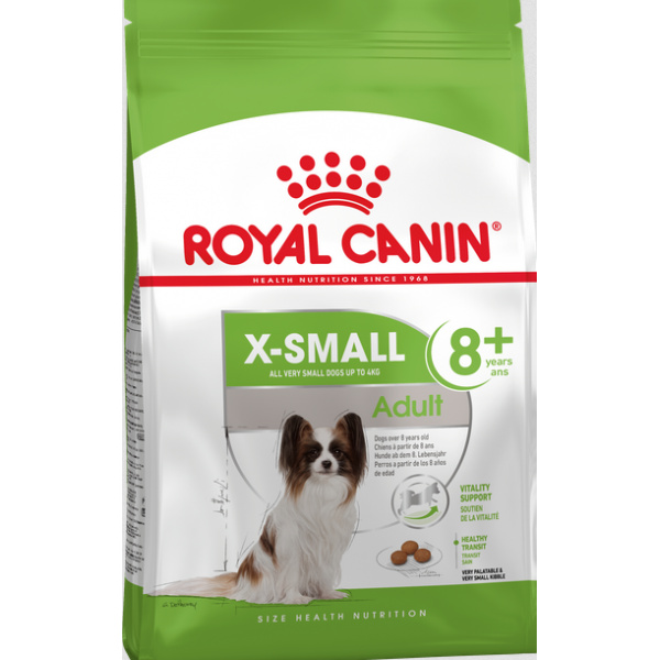 Royal canin x-small mature 8 1.5kg